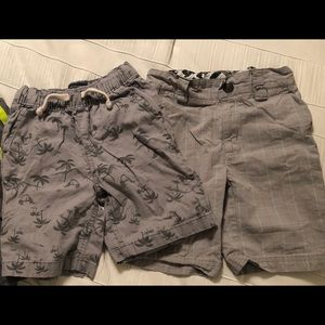 Lot of 2 Boys Gray Shorts Size 4T